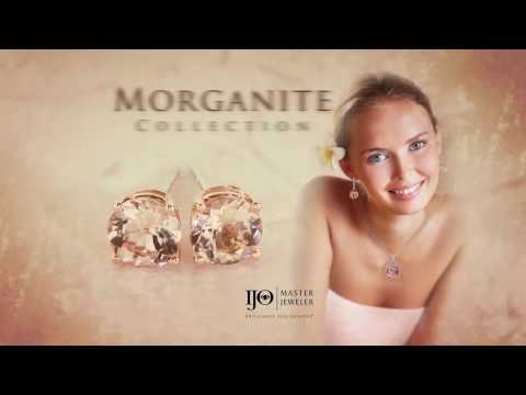 Morganite Jewelry only at Robson's Diamond Jewelers in Baytown for Houston and surrounding areas