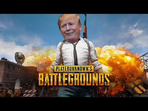 ¡DONALD TRUMP Juega PUBG! (Player Unknown's Battlegrounds)