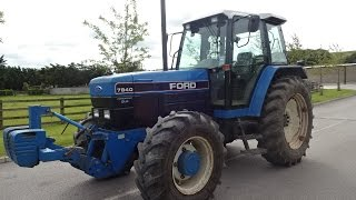 Ford 7840 powerstar sle