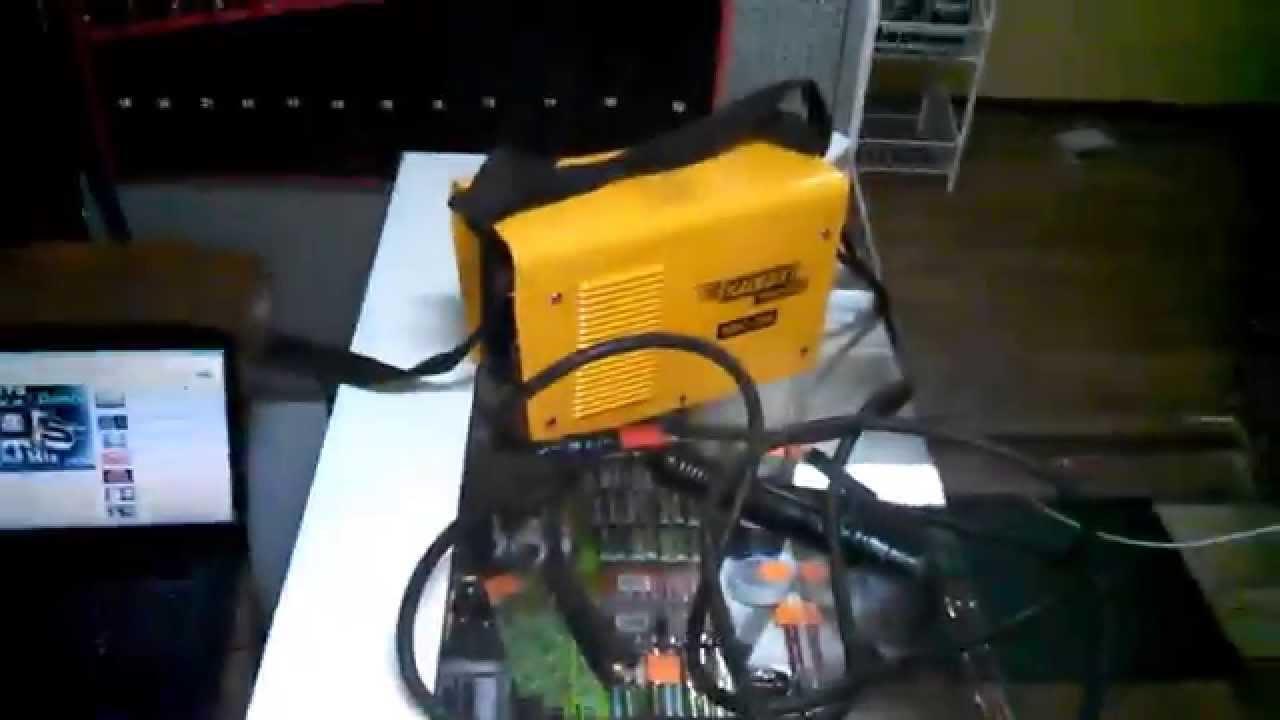 Сварочный аппарат DVP-730 - YouTube