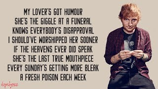 Ed Sheeran - Take Me To Church (Lyrics)