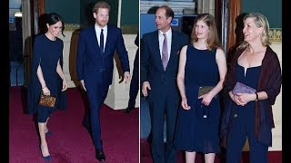 Prince Harry and Meghan Markle at the Royal Albert Hall for the Queen s birthday