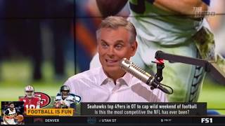 Colin Cowherd Excited Colin unveils his Top 10 teams ahead of Week 11   The Herd