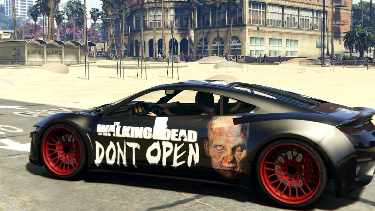 GTA V Zombie Car Paintjob