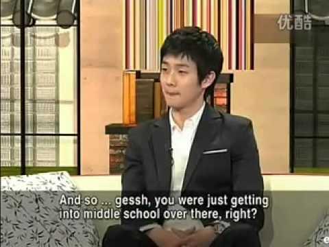 Choi Woosik at 'Star English' PART1