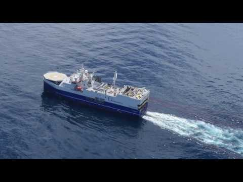 RAW: Amazon Warrior Seismic Blasting