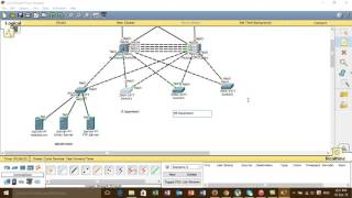 How to Configure VLAN+VTP+STP+Etherchannel+HSRP+OSPF