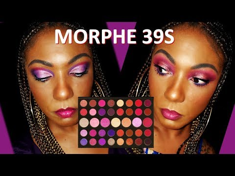 **NEW** Morphe 39S Palette - 2 Eye Looks, Swatches & First Impression thumbnail
