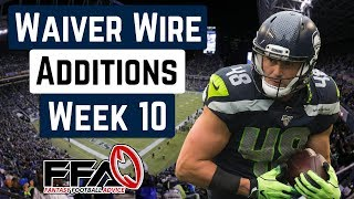 Top Waiver Wire Targets - Week 10 - 2019 Fantasy Football Advice