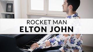 Elton John - Rocket Man | Piano Cover + Sheet Music