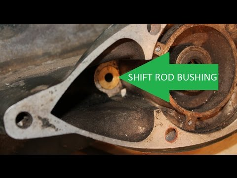 Quick And Easy Removal Of Johnson Evinrude Brass Shift Rod