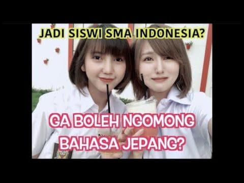 CEWEK JEPANG PAKE SERAGAM SISWI SMA INDONESIA?! BEGINI JADINYA!! PART 1 (Feat @Annisa Syamsi )