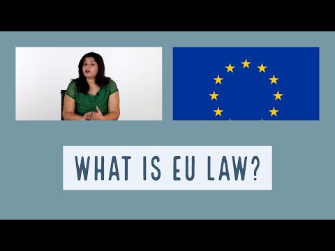 27 - Introduction to EU Law