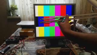 Ремонт подсветки монитора NEC замена ламп, подробная разборка сборка