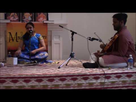 Maduradhvani Toronto 2016 series - Concert # 14 by Kum.Nandini Sridhar, Nov 20, 2016