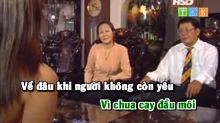Về Đâu 4 - Trương Đan Huy Karaoke Beat