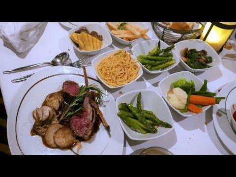 NCL Specialty Restaurants Le Bistro, La Cucina Food & Menus (HD)