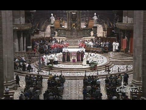 6 ottobre 2018 -  Duomo di Milano - Redditio Symboli (ChiesaTV canale 195)