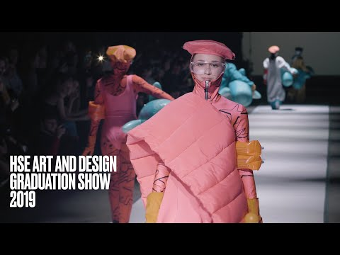 HSE ART AND DESIGN GRADUATION SHOW 2019