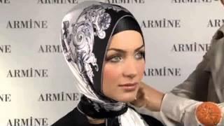 Как завязать платок и хиджаб Способ 9