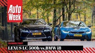 BMW i8 vs Lexus LC 500h - AutoWeek Dubbeltest