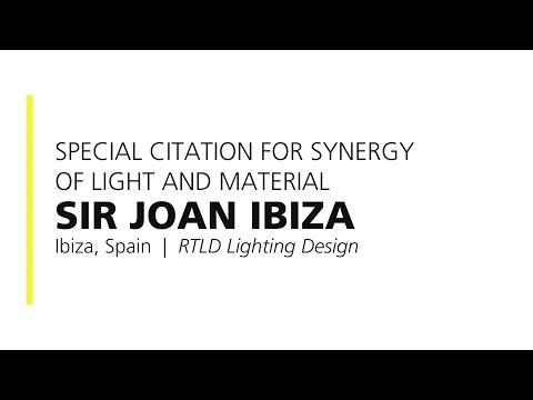 Sir Joan Ibiza – 2018 Special Citation