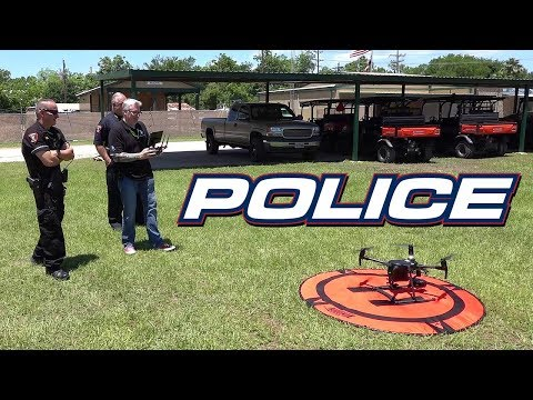 The Police Matrice Drone - KEN HERON
