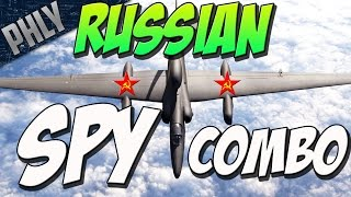 russian spy combo kv 1b il 2 war thunder tanks gameplay