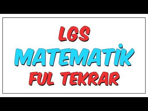 LGS Matematik Ful Tekrar