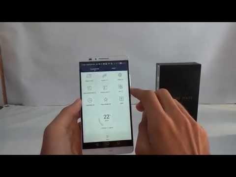 Huawei Ascend Mate 7 bemutató videó