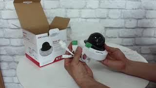 Mở Hộp Camera Mini Ptz Hikvision Ds 2cd2f42fwd Iws