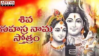 Shiva Sahasranama Stotram ( Shivaratri Special ) UdayKumar , Rathnakumar