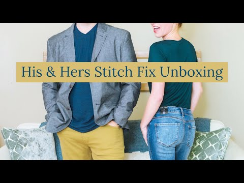 StitchFix Men and Women Clothing Subscription Review