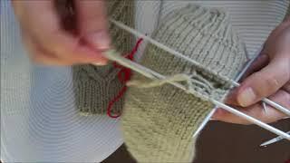 Как вязать варежки. Урок 4