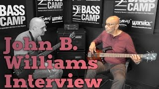 Henning talks with John B. Williams (Count Basie, L. Armstrong, Horace Silver, Tonight Show)