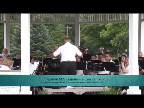 Norfolk Town Hill Concert Series 2015: The Southeastern MA Community Concert Band