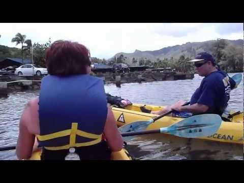 Kauai Part 6: Kayak Wailua River to Uluwehi Falls (Secret Falls), Opaekaa and Wailua Falls