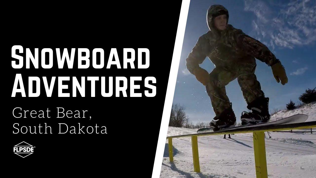 Snowboarding in South Dakota!