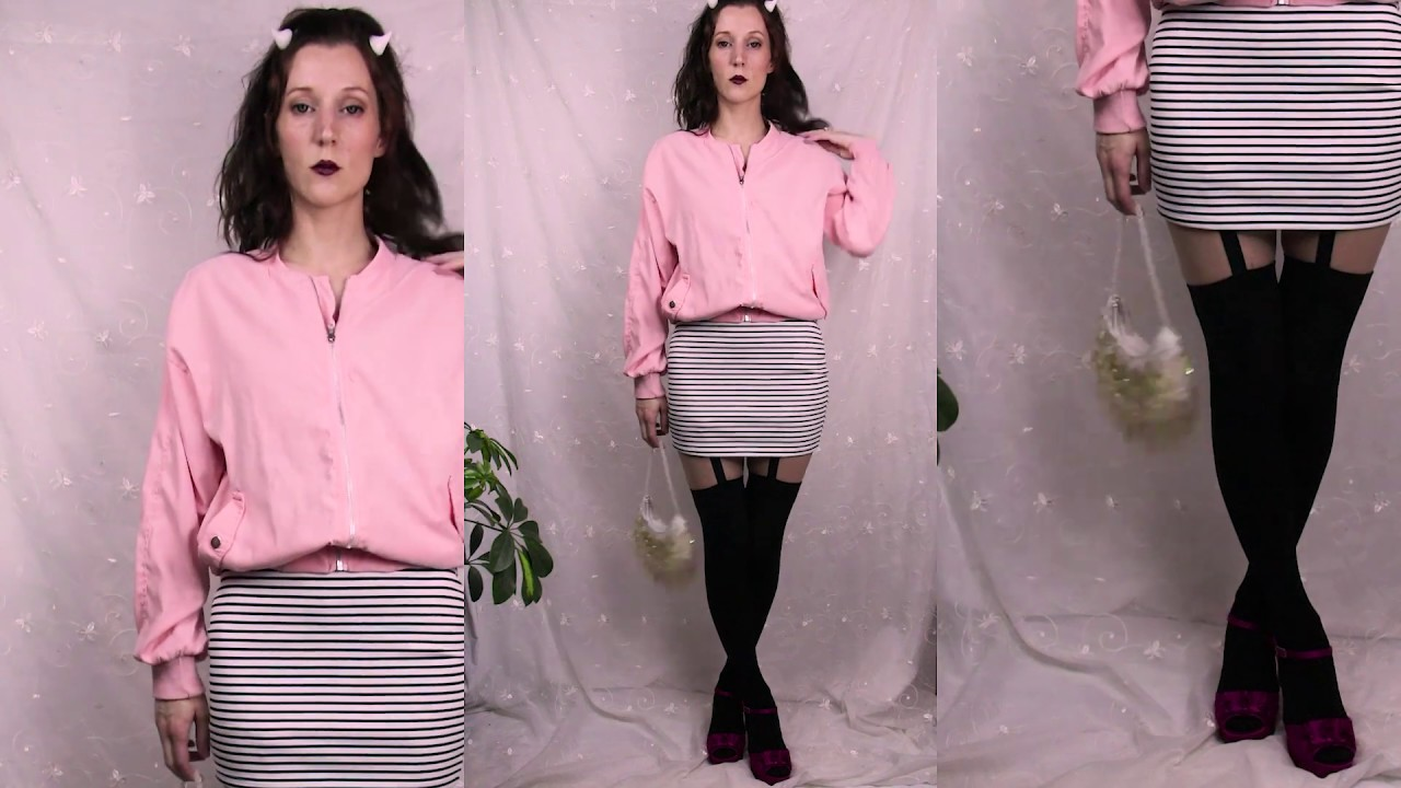 Yami Kawaii Spring Outfit Inspo
