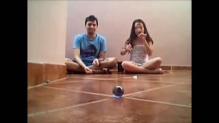 parte 1 jogando bolinha de gude com Maria e Rogério