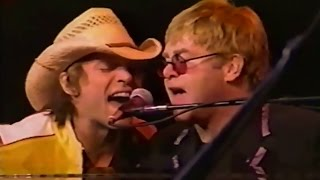 Elton John, Jon Bon Jovi & Richie Sambora - Bitch is Back (Los Angeles 2001)