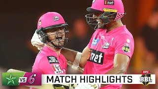 Sixers come from nowhere to snag BBL epic | KFC BBL|10