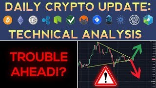 Trouble Ahead For Cryptocurrencies