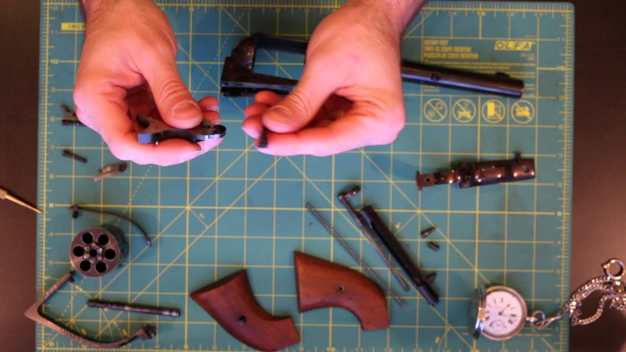 Colt SAA Disassembly and Reassembly COMPLETE