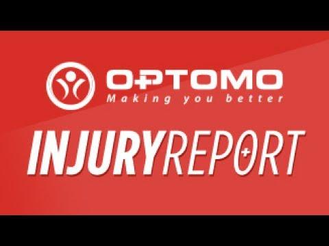 Download Optomo Injury Report: Round 13