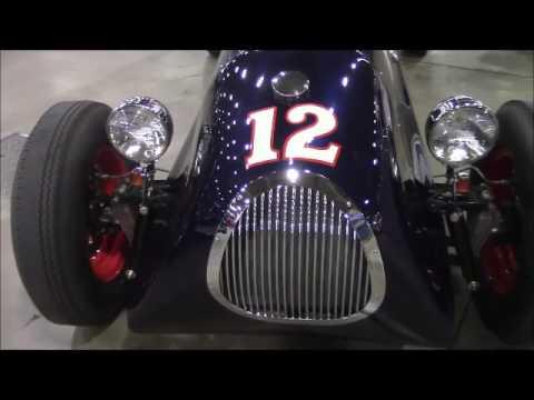 Leake Auction Tulsa - 1938 Gulf Miller Indy Car (replica)