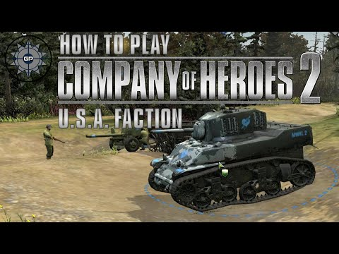 How to Play Company of Heroes 2 Online - American Faction