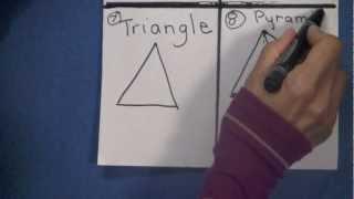 FUN Drawing Geometric SHAPES Kindergarten, 1st, 2nd, & 3rd Grade Kids - TEACHER GIFT