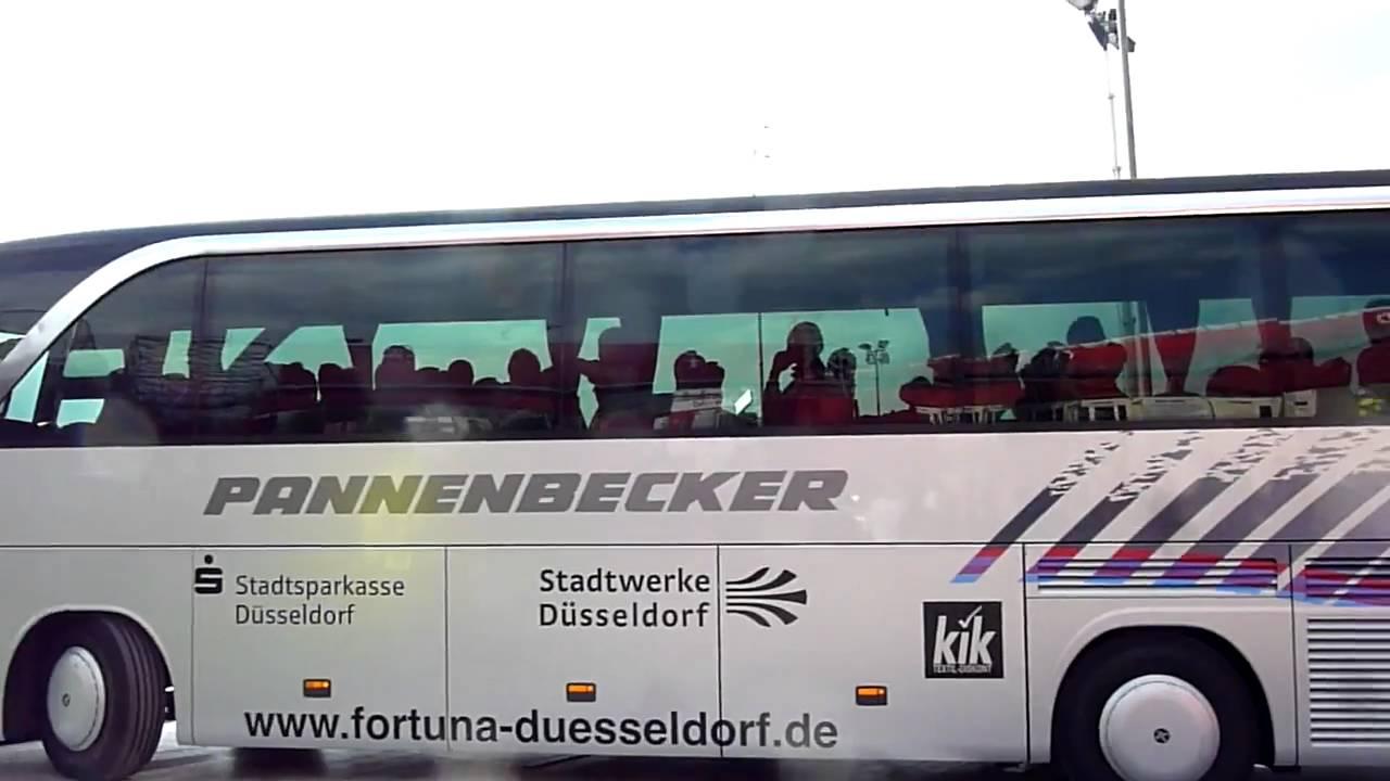 fortuna d sseldorf union berlin mannschaftsbus fortuna 15 f95 fc youtube. Black Bedroom Furniture Sets. Home Design Ideas