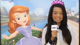 Disney Sofia the First with Darcy Rose Byrnes, Wayne Brady, & Zach Callison